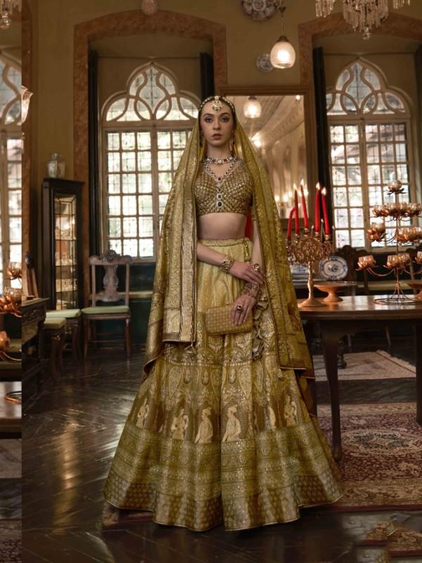 Cotton Chanderi Casual Wear Suit In Beige Color